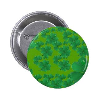 Pin verde del trébol