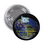 Pin: World Rat Pinback Button