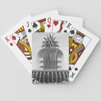 Piña calmante barajas de cartas