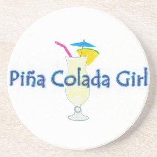 Piña Colada Girl Coasters