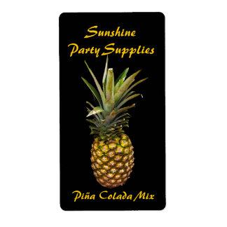 Pina Colada Mix Labels