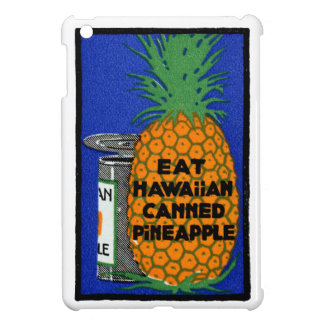 Piña del Hawaiian del vintage iPad Mini Protectores