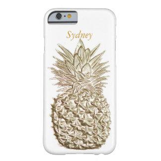 Piña del oro personalizada funda barely there iPhone 6