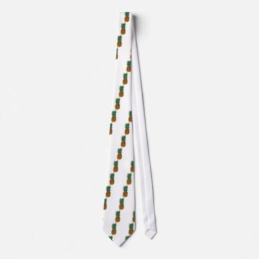 Piña deliciosa corbatas