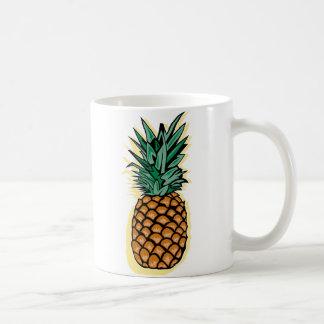 Piña deliciosa taza de café
