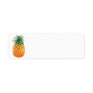 Piña Etiqueta De Remitente