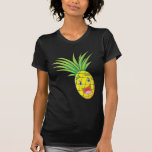 Piña feliz camiseta