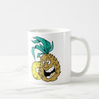 Piña feliz taza