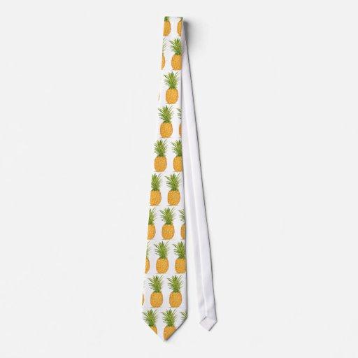 Piña hawaiana corbata