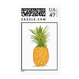 Piña hawaiana sello postal