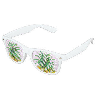Piña minimalista lentes de fiesta