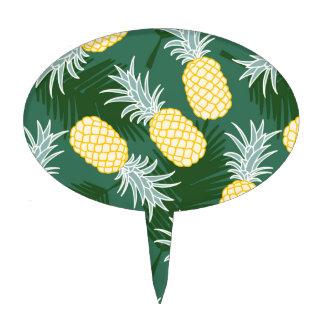 Piña tropical decoración para tarta