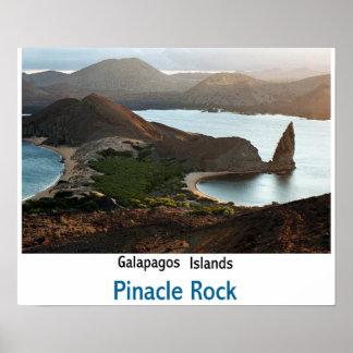 Pinacle Rock Poster