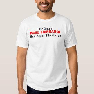 Pináculo: Campeón de la herencia Camisas