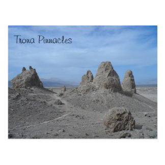 Pináculos de la trona tarjeta postal