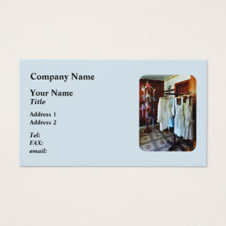 Pinafores and Bonnets in General Store Business Card