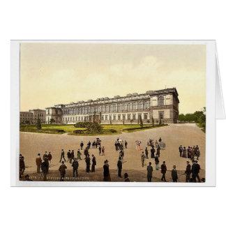 Pinakothek viejo, magnifice de Munich, Baviera, Al Tarjetas