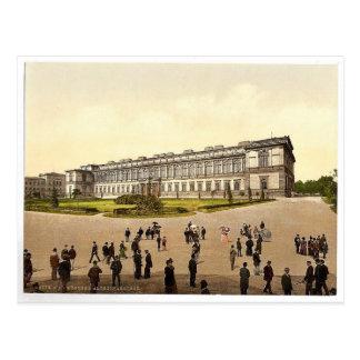 Pinakothek viejo, magnifice de Munich, Baviera, Al Postal