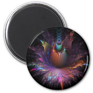 Pinapple Explosion Fractal multiple products Refrigerator Magnet