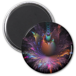 Pinapple Explosion Fractal multiple products Magnet