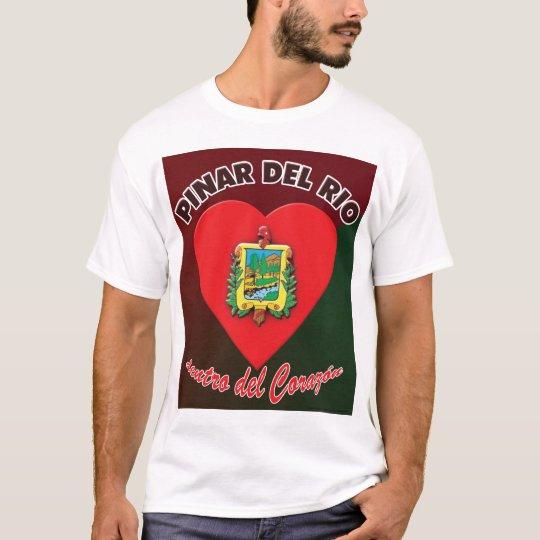 Pinar del Rio dentro del Corazón T-shirt 2