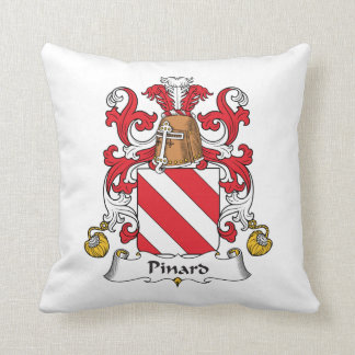Pinard Family Crest Pillow