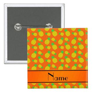 Piñas conocidas personalizadas del amarillo pin cuadrada 5 cm
