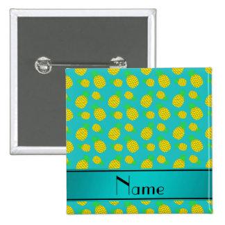 Piñas conocidas personalizadas del amarillo de la pin cuadrada 5 cm
