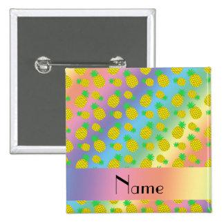 Piñas conocidas personalizadas del amarillo del pin cuadrada 5 cm