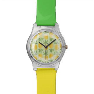 Piñas retras relojes de mano
