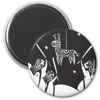 Pinata 2 Inch Round Magnet