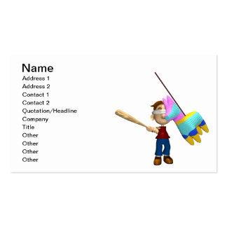 Pinata Double-Sided Standard Business Cards (Pack Of 100)