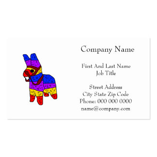 Piñata Cartoon Illustration.png Double-Sided Standard Business Cards (Pack Of 100)