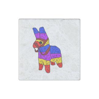 Piñata Cartoon Illustration Stone Magnet