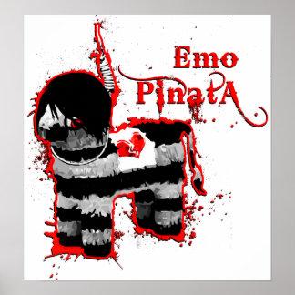 pinata del emo póster