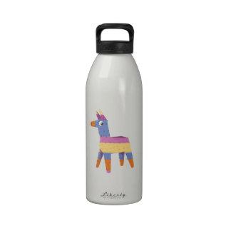 Pinata Donkey Water Bottle