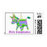 Pinata, Feliz Cumpleaños Stamps