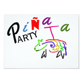 Pinata Party Birthday Invitation