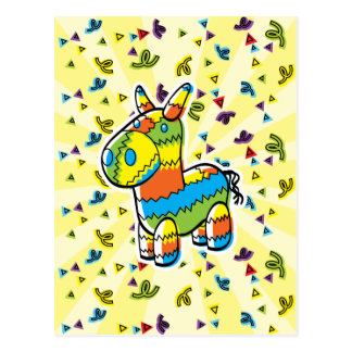 Pinata Postcard