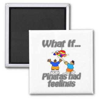 pinatas 2 inch square magnet
