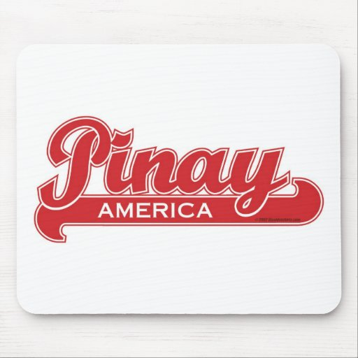 Pinay America Mousepads