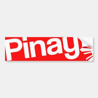 Pinay Bumper Sticker