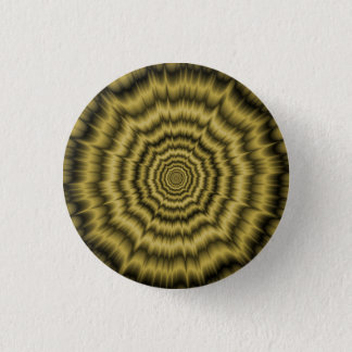 Pinback Button   Eye Boggling Explosion in Gold