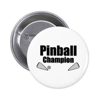 Pinball Champion Pin