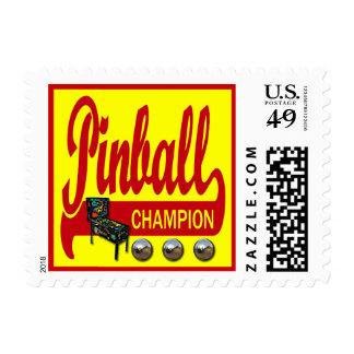 Pinball Champion Postage