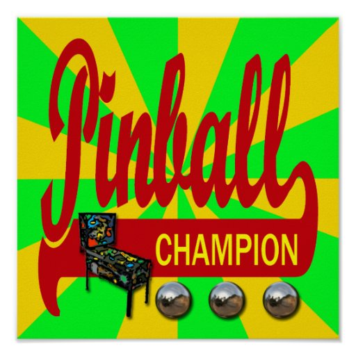 Pinball Champion Poster