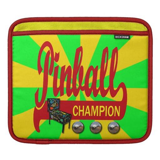 Pinball Champion Sleeve For iPads