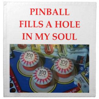 PINBALL CLOTH NAPKIN