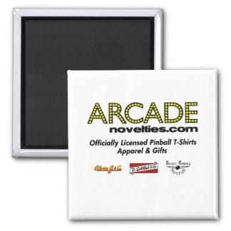 pinball de ArcadeNovelties.com Imán Cuadrado
