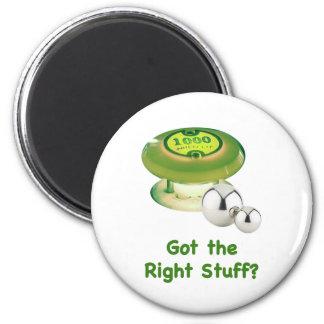 Pinball de Right Stuff Imán Redondo 5 Cm